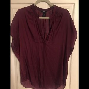 H&M Silk top